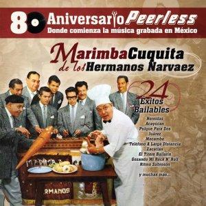 Album Peerless 80 Aniversario - 24 Exitos Bailables from Marimba Cuquita de los Hermanos Narvaez