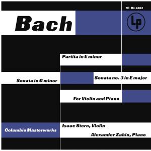 J.S. Bach: Violin Sonatas E Minor and E Major - C.P.E. Bach: Violin Sonata in G Minor, H. 542