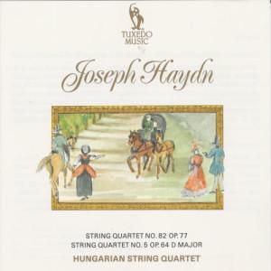 Album Haydn: String Quartet No. 82, Op. 77 & No. 5, Op. 64 from Hungarian String Quartet