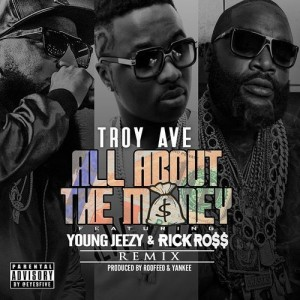 Listen to All About The Money (Remix) song with lyrics from Troy Ave