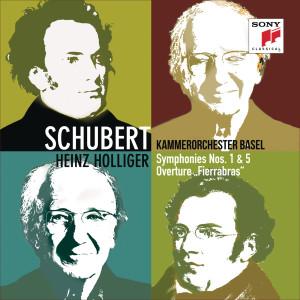 Album Schubert: Symphonies Nos. 1 & 5, Fierrabras Overture from Heinz Holliger