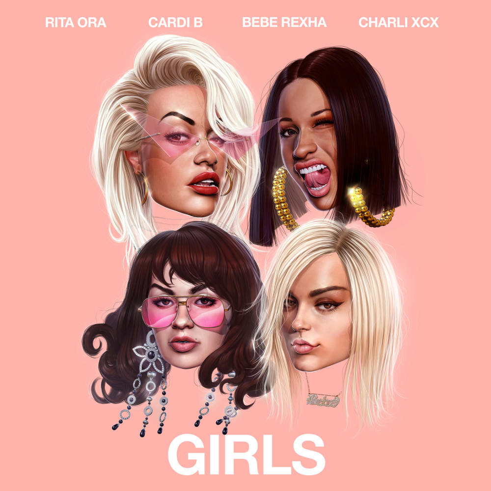 Girls (Steve Aoki Remix) 2018 Rita Ora; Charli XCX; Cardi B; Bebe Rexha