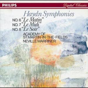 Album Haydn: Symphonies Nos. 6, 7, & 8 from Academy of St Martin-in-the-Fields Chorus