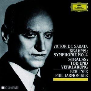 Album Brahms: Symphony No.4 /  Strauss, R.: Tod und Verklärung, Op.24 from Victor De Sabata