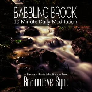 Album Babbling Brook - A 10 Minute Daily Meditation from Brainwave-Sync