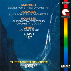 Album Martinu: Sextet for String Orchestra from Zagreb Soloists