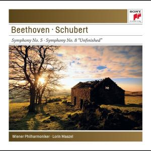 "Album Beethoven: Symphony No. 5 & Schubert: Symphony No. 8 ""Unfinished""  - Sony Classical Masters from Lorin Maazel & Orchestre National France"