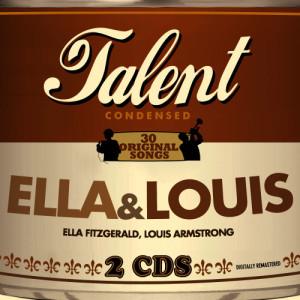 Ella Fitzgerald的專輯Talent - 30 Original Songs - Ella & Louis