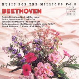 Album Music For The Millions Vol. 2 - Ludwig van Beethoven from National Philharmonic Orchestra