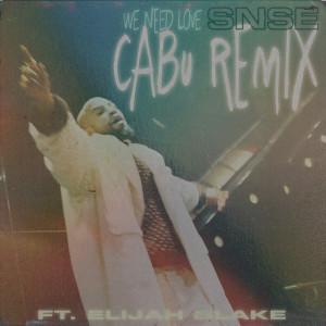 Album We Need Love (Cabu Remix) from Elijah Blake