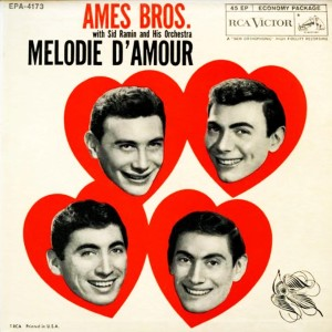 Album Melodie D'Amour (Melody of Love) from The Ames Brothers