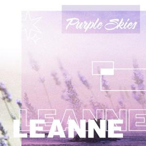 Album purple skies from LeAnne
