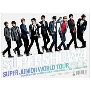 Super Junior的專輯SUPER JUNIOR The 4th WORLD TOUR [SUPER SHOW 4]