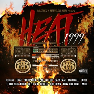 Album Heat 1999 from Goldtoes