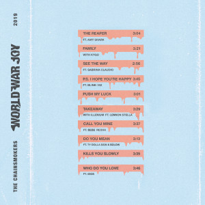 Listen to Takeaway song with lyrics from The Chainsmokers
