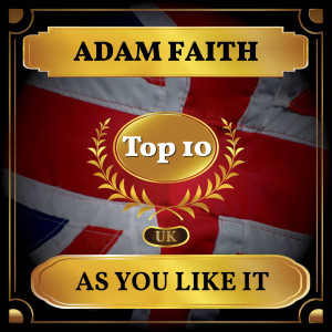 Album As You Like It from Adam Faith